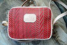 Cross shoulder leather bags / Handmade cross shoulder bags