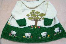 Tricotando com carinho...