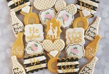 Engagement Cookies, wedding cookies