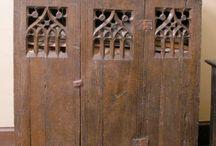meble średniowieczne