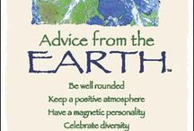 Advice from nature / Advice, wisdom, words, nature, believe, spirite