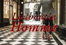 Louboutin Homme / Gentlemen prefer rouge.
