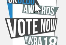 PLEASE VOTE FOR US! / We occasionally get nominated for awards and we would deeply appreciate you helping us reach the final by voting for us.