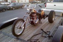 Trikes with mc engine