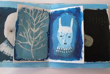 I>art>book art / by Claire
