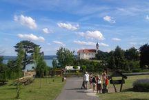 Tihany, Balaton, Hungary / The most beautiful place near Balaton lake, Hungary.