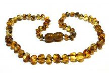 Children's Amber Necklaces / Baltic Amber Children's Necklaces available from Ambience Amber