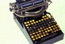 old #typewriters / Nice old typewriter