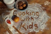 Kids in the Kitchen / Because it's just more fun that way! (Although patience is a must!)