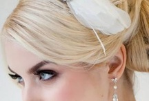 head dresses / made from flowers, diamantes