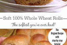 bread and bread roll recipes