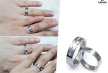 커플링 반지사진