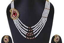 Attractive Strand Party Wear Necklace Jewelry Set