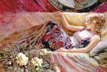 Vladimir Volegov / festő munkái