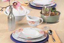 Frühlingsgrüße auf Porzellan / Frisches Design in bunten Farben - mit Seltmann Weiden Porzellan holen Sie sich den Frühling auf den Tisch!