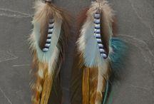 bijoux / plumes
