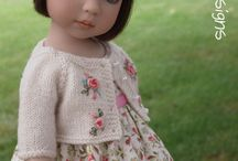 hand knit doll clothes