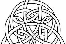Celtic pattern tattoo