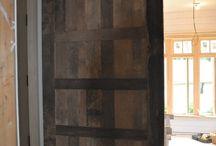 Doors / Goodman Millwork designs, builds and installs custom doors.  We also repair and refurbish weathered, faded doors.