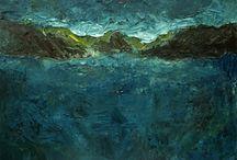 Paintings by Luke Florio