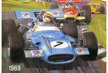 Formula 1 historical cars