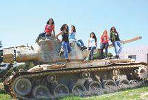 Tanks on Tanks / Check out our tanks photoshoot in the latest Viv Magazine edition! #TanksonTanks #Jobedu #VivMag #Tanks #JO