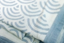 Susannah Block Printed Cotton Throws / I used to design and sell these hand printed cotton throws. I intend to start sellingl them again in 2017.  Susannah