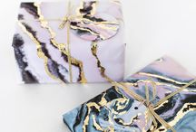 Marbled Paper Ideas