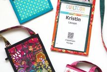 Quilted Name Tags/Postcards/Mug Rugs