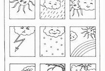 időjárás, évazakok