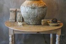 interieurs and decorations / Oud nieuw sfeer rust en warmte