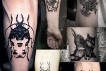 Tattoo black n grey