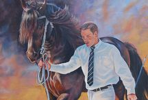 Horses In Art- In Hand Showing / Pony and Light breeds