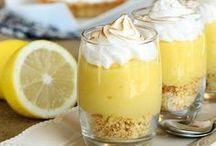 tarte au citron en verrine