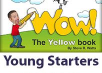 Wow! This is English! / Welcome to the Wow! series for young and very young learners. The Yellow, Blue, Red, Green, Orange, Bronze, Silver and Gold books of the Wow! series from Wattsenglish Ltd. form a comprehensive eight-year course of English for children.