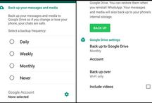 How To Backup WhatsApp Conversations in Google Drive