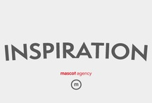 Inspiration / A collection of Mascot Agency's inspiration pieces.