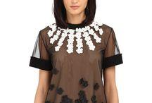 High fashion blouses
