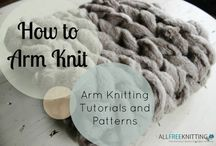 Knitting - Arm knit