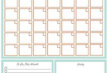kalendáre, plánovače