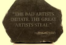 Banksy Quotes / by Lisa Neault