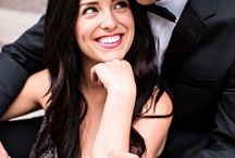 Styled Glam Engagement Photos