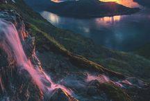 Beautiful Norwegian Landscapes.
