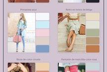 ropa y colores