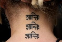 Sanskrit tattoos