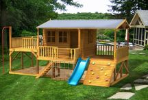 Brand New Cubby House Range / Take a look at our awesome new range of cubby houses