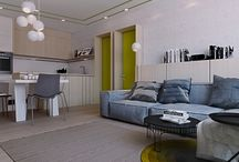 Apartment Kiev / Modern apartment with interesting rooms for kids