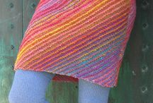 Knitting - dress, skirt