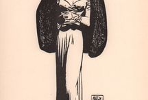 Milton Caniff & other inkers