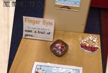 Fine motor finger gym